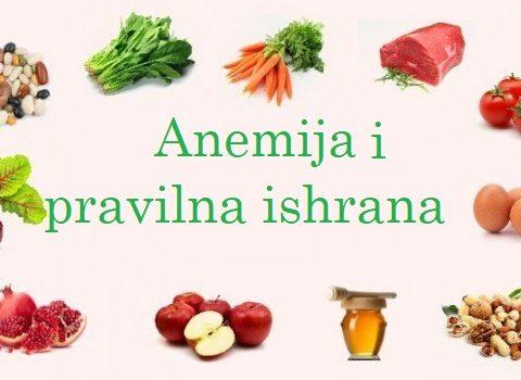 Anemija i značaj pravilne ishrane